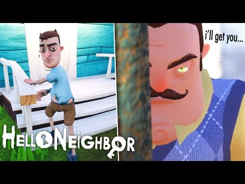 WE ESCAPED THE NEIGHBORS BASEMENT! | Hello Neighbor FINAL BUILD (full Game)