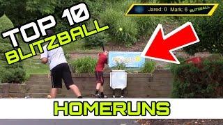 Top 10 Blitzball Wiffleball Homeruns OF ALL TIME!!!