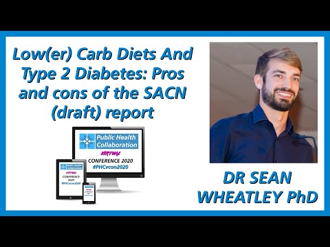 Pros And Cons Of The Low-carb SACN (draft) Report by Dr Sean Wheatley PhD | #PHCvcon2020