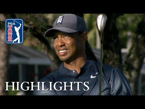 Tiger Woods' extended highlights | Round 1 | Honda
