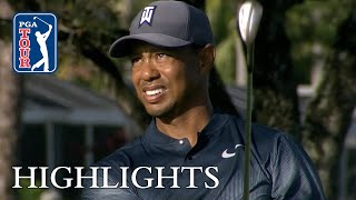 Tiger Woods' extended highlights | Roun...