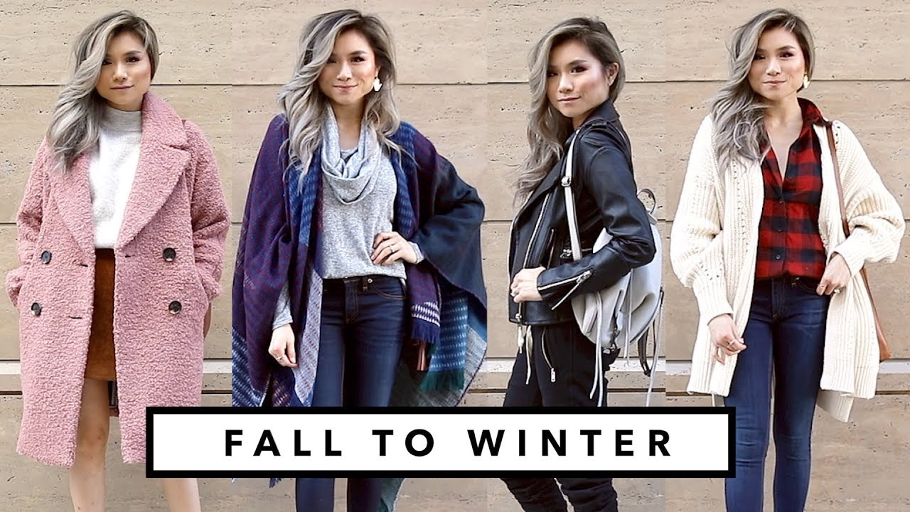 FALL to WINTER Transitional Lookbook | Fall Winter Outfit Ideas Fashion Haul | Miss Louie 4