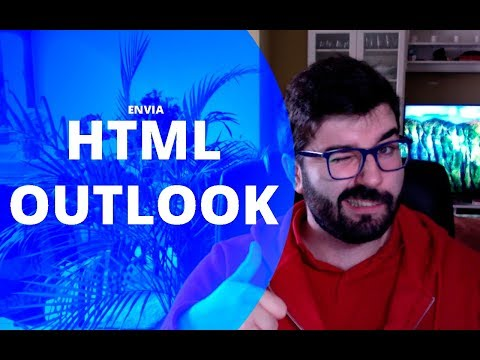 Cómo Mandar HTML En OUTLOOK
