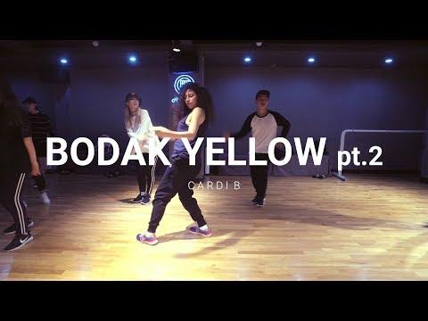HY dance studio | Cardi B - Bodak yellow pt 2 | Hyo yeon choreography  feat. Alex reid