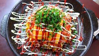 [요리먹방 Ep.41] 노밀가루!! 퓨전 양배추전 | …