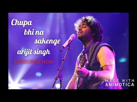 Chupa Bhi Na Sakenge/ By Arijit Singh/kalank