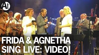 ABBA REUNION 2016 Agnetha Frida Sing The Way Old Friends Do LIVE At Berns Stockholm June 2016