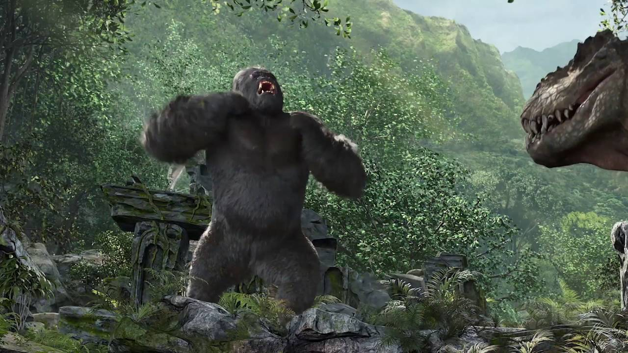 Skull Island Reign Of Kong Meet King Kong Youtube