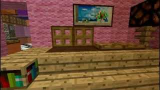 casa de los simpson en minecraft
