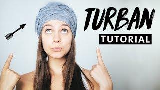 Turban Haarband Tutorial   3 Styles   Fettige Haare SO WHAT