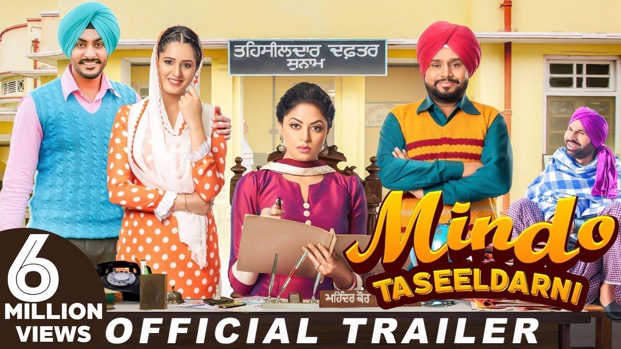 Download Mindo Taseeldarni  (Trailer) | Karamjit Anmol | Kavita Kaushik | Rajvir Jawanda | Isha Rikhi
