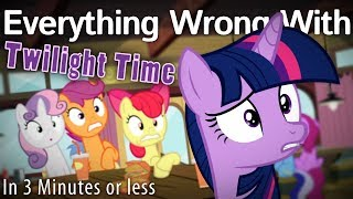 (Parody) Everything Wrong With Twilight Time In 3 Minutes Or Less