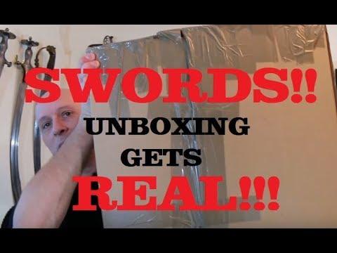 Antique Sword Unboxing - January 2018 Part 2!