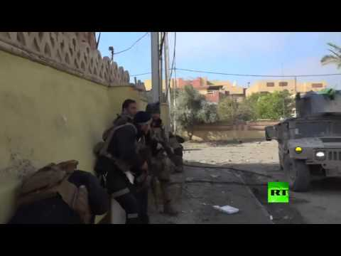 Iraqi special forces against ISIS in Mosul 2017