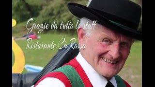 video evento ristorante Cà Rossa Pergine lago di Caldonazzo