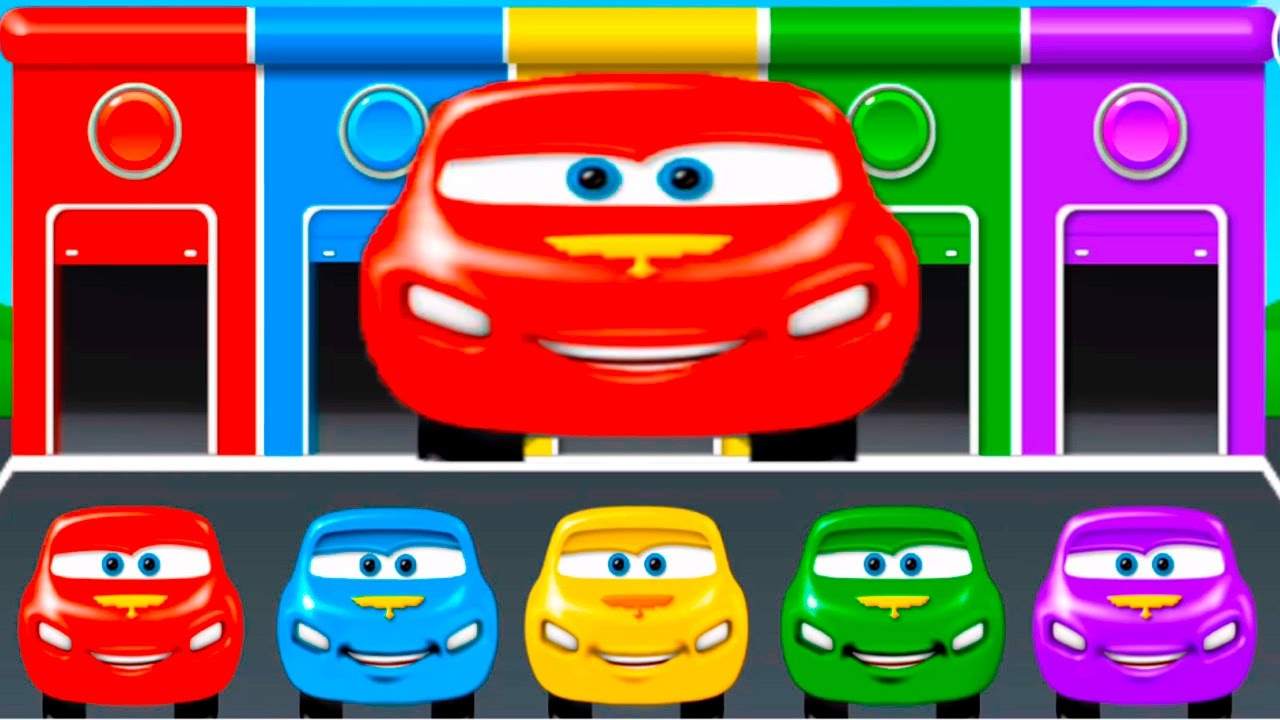 Learn Colors Learning Сolors for Kids Colors Cars games ...