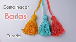 Hoy vamos a realizar borlas con lana. Bolso entrelac Parte 1: https://youtu.be/qTN3oExUvpQ Podés ver más tejidos tutoriales visitando mi Canal de Youtube.