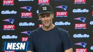 Tom Brady Patriots vs. Bears Week 7 Friday Press Conference