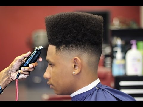 Tutorial on How To Cut a HighTop Fade  HD