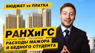 БЮДЖЕТ-ПЛАТКА - РАНХиГС Российская академия народного хозяйства и государственной службы