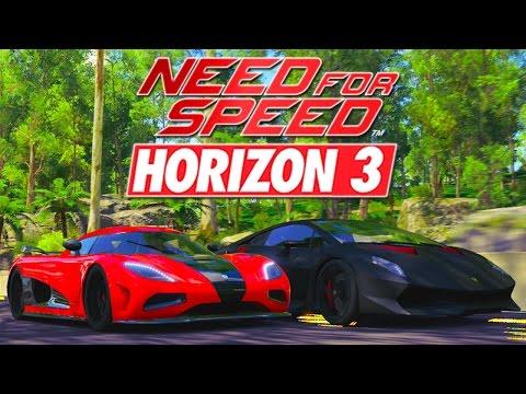 Forza Horizon 3 - NEED FOR SPEED DELEON RACE RECREATION !! (Movie)