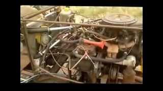 Самодельный Трактор с двумя коробками 5х4 на базе ваз 2109 и газ 51