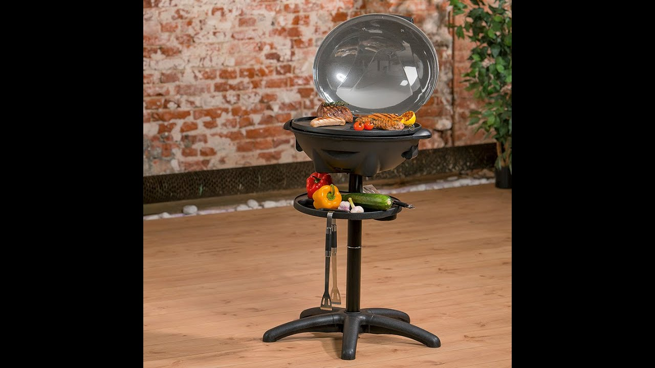 calli grill elektro bbq grill 05613 maxx youtube. Black Bedroom Furniture Sets. Home Design Ideas