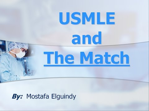 USMLE and The Match 3/4 (Arabic)