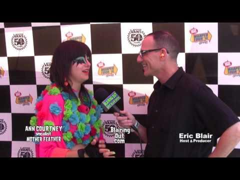 Mother Feather's Ann Courtney & Eric Blair talk Warped Tour 2016