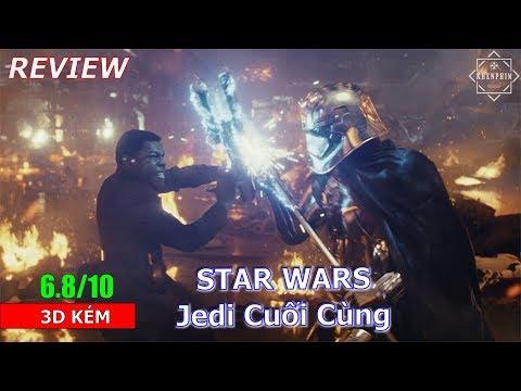 Nhận xét nhanh phim Star Wars: Jedi Cuối Cùng (The Last Jedi)