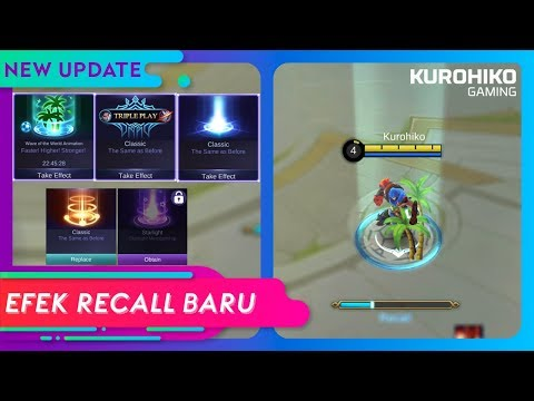 Efek Recall Baru, Efek Notifikasi Kill dan Respawn Baru - Mobile Legends Indonesia