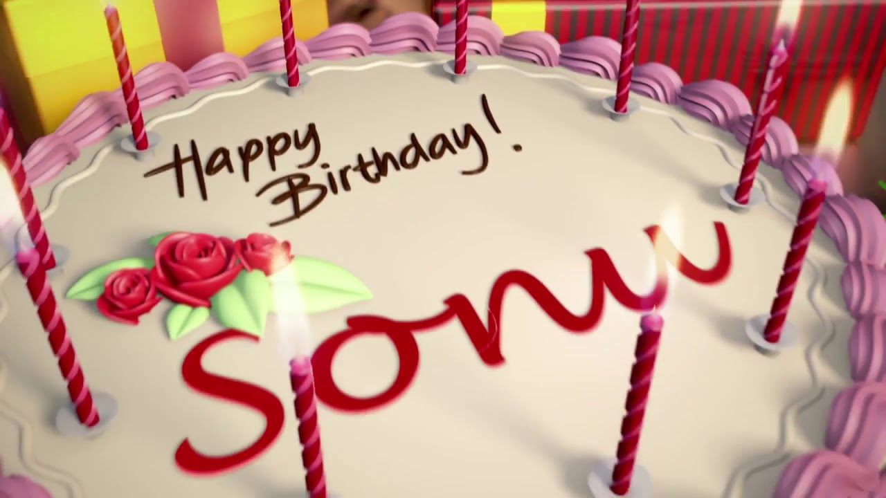 Happy Birthday Sonu
