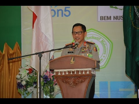 Kepala Kepolisian Republik Indonesia Jend. Pol. Tito Karnavian Th. 2017