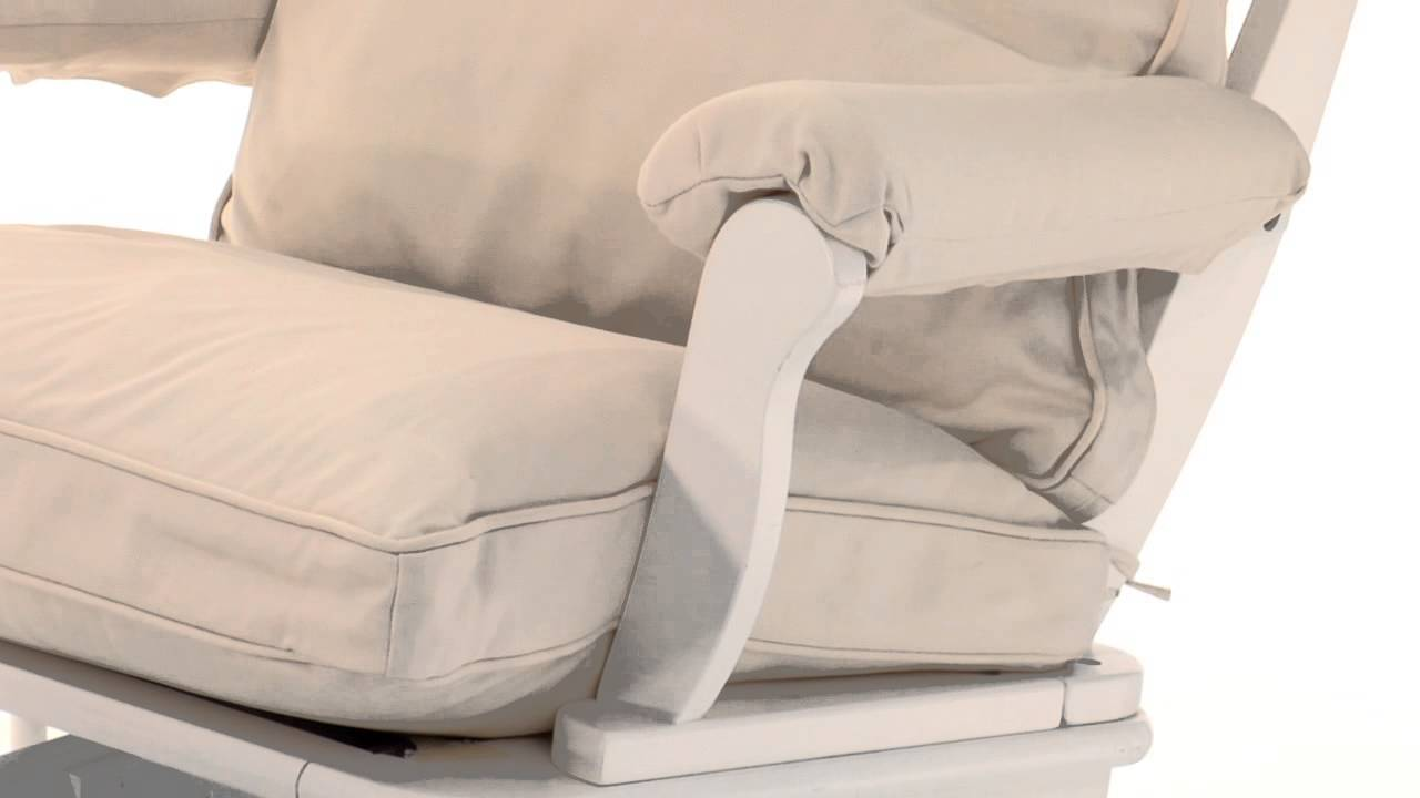 Pottery barn kids sleigh crib - Soothe Your Baby To Sleep In This Sleigh Glider Pottery Barn Kids
