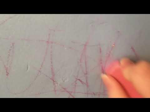 Mom Hack| Getting Crayon Off The Walls