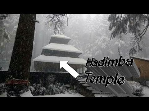 Hadimba Temple & Ghatotkach Temple of Manali full video
