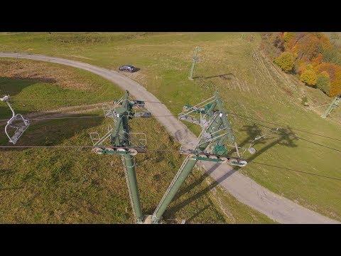 Drone : je vole dans une station de ski !