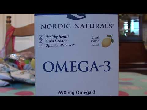 Nordic Naturals Omega-3 Fish Oils S Soft Gels  REVIEW