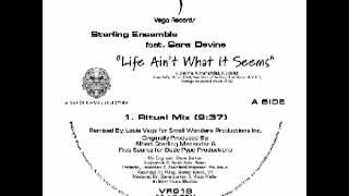 """VR018 Sterling Ensemble Feat  Sara Devine   """"Life Ain"""