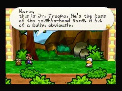 (002) Paper Mario 100% Walkthrough - Jr. Troopa