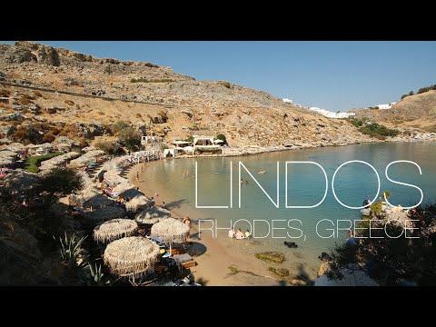 Lindos, Rhodes, Greece. 90 second travel guide