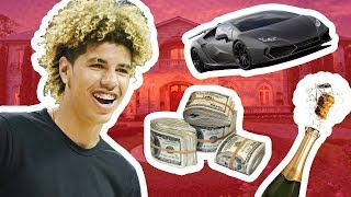 How Much Is LaMelo Ball WORTH!? Crazy RICH At 16 Years Old 💸