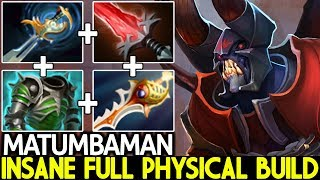MATUMBAMAN [Doom] Insane Semi Carry Full Physical Build 7.24 Dota 2