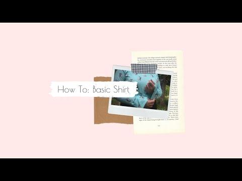 How To: Simple Shirt Tutorial thumbnail
