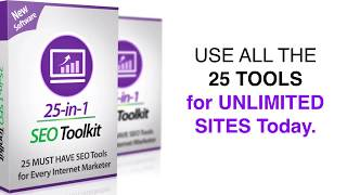 25 SEO TOOLS KIT | Every Website Owner Must Have To Get Higher Ranking