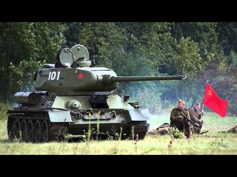World War 2 Top 10 Soviet Tanks and Tank Destroyers (Videos)