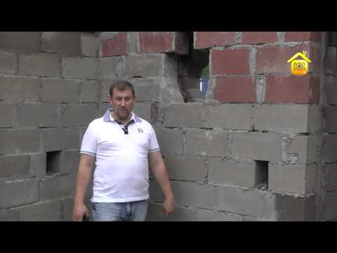 видео: Строительство из блоков на основе керамзита // forumhouse