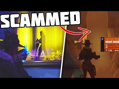 *NEW SCAM* The CYCLONE Scam, I SCAMMED HIS WHOLE INVENTORY PRANK! - Fortnite Save The World