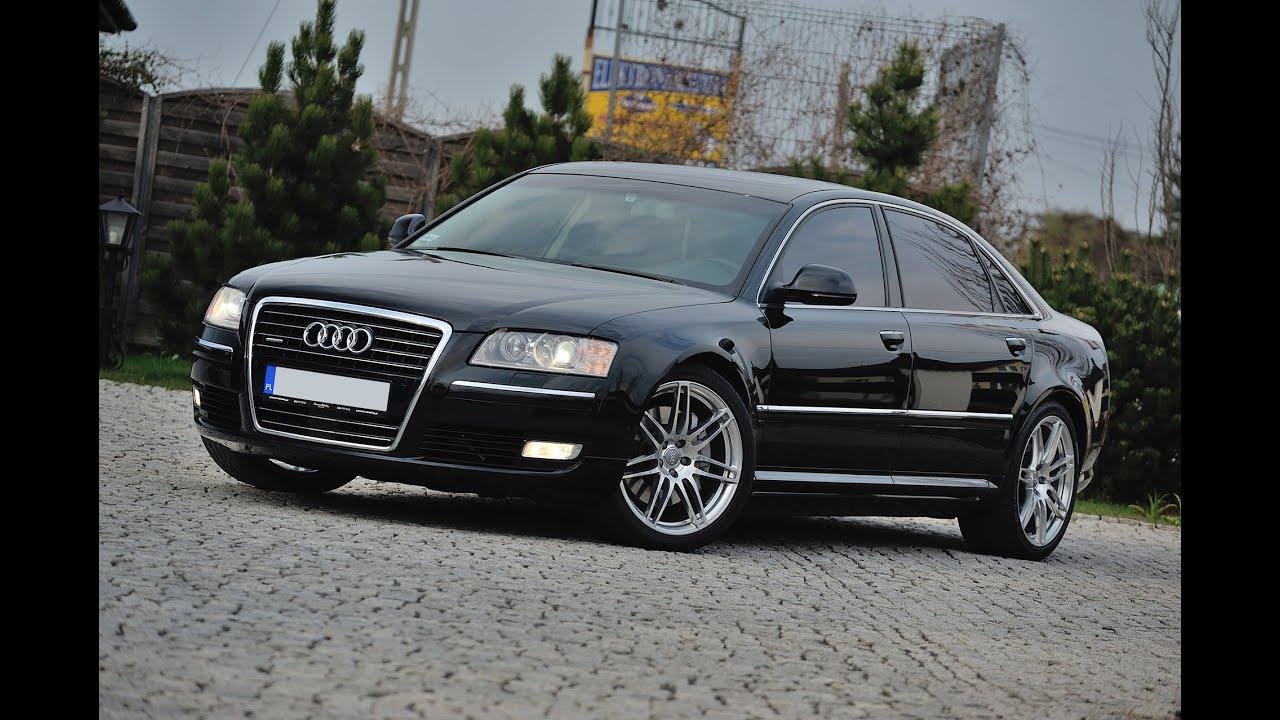 Audi A8 Long 4 2fsi 2010r Solardach Komforty Wentylacja