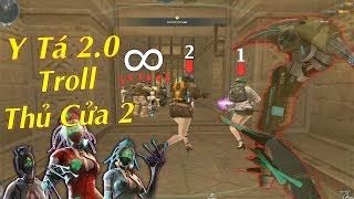Sử Dụng Y Tá 2.0 Tàn Hình Bunny Troll Zombie Thủ Cửa 2 - Rùa Ngáo
